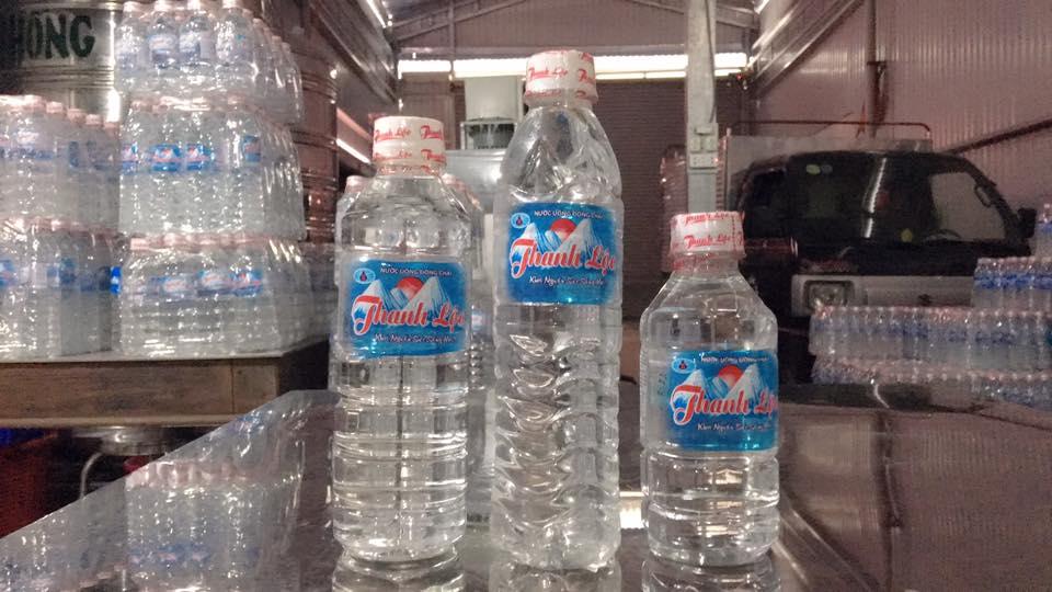 Nước tinh khiết chai 300ml/thùng/lốc 24c (mẫu chai vuông và tròn)